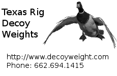 DecoyWeight.Com - Texas Rig Decoys for Sale